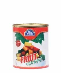 Canned Fruit Cocktail, Packaging Type: can, Packaging Size: 800gm