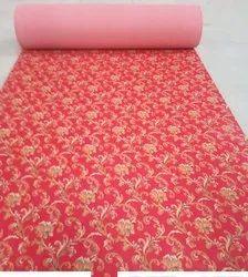 NON WOVEN PRINTED CARPET DESIGN NO - 501 RED
