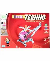 Little Engineer Basic Techno Mechanical Kit For Child 12 Different Models 95  Pieces