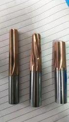 Solid Carbide Reamer, Taper Reamer, Spiral Fluted Reamer