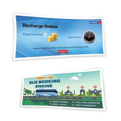 Rectangle Advertising Foam Banner