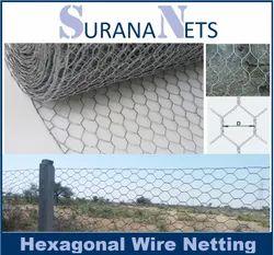 SS304 Hexagonal Wire Net