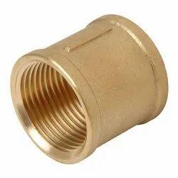 Golden Brass Round Socket, Size Diameter: 1 Inch
