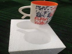 Thermocol coffee Double Mug Packaging Box
