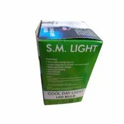 S.M PP 9W Dob LED Bulb, Base Type: B22, Model Name/Number: Smdob