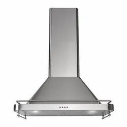 Charcoal SS Kitchen Exhaust Chimney