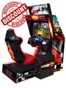 Car Racing Arcade Game Machine - Crazy Speed