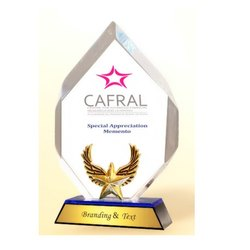 AC 8438 Esteemed Diamond Acrylic Trophy