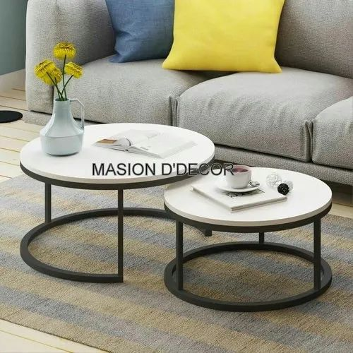 Marble Ss White Round Coffee Table M, White Round Coffee Tables