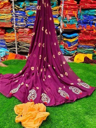 Designer Gota Work Saree
