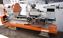 Mild Steel Olympic Extra Heavy Duty Center Lathe Machine, 440 V