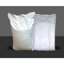White Hdpe woven bag