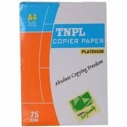 White A4 TNPL Copier Paper, Packaging Type: Packet