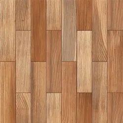 Matte Wooden Floor Tiles, For Flooring, Thickness: 8 mm