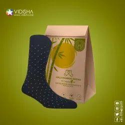 Unisex Hals Bamboo Socks Pack Of Three, Size: Free