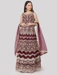 Indian Designer Georgette Embroidered Suit