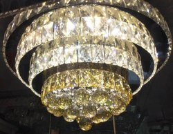 Crystal LED Ceiling Hanging Chandelier, Model Name/Number: Ll T61157