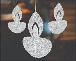 SIGNATIVE Paper Hanging Deepak, For Decoration