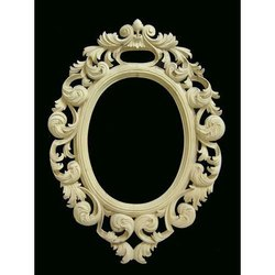 Round Designer Mirror Frame