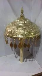 Chattri made of Brass / Copper, For Puja