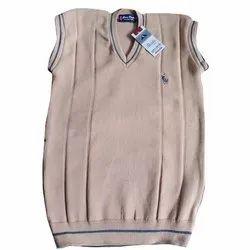 Mens V Neck Sleeveless Sweater