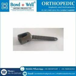 6.5 mm Orthopedic Implant Polyaxial Screw