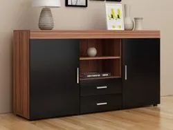 Brown Board TV Entertainment Cabinet / Unit / Wall Or Kitchen Cabinets, Hotel & Home Use