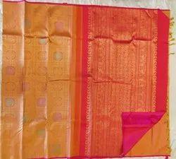 Tiger Color Silk Saree