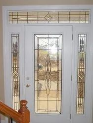 Hinged Designer Glass For Main Entrance, For Home, Thickness: 25 Mm