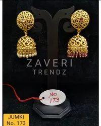173 Gold Plated Fashion Jhumki