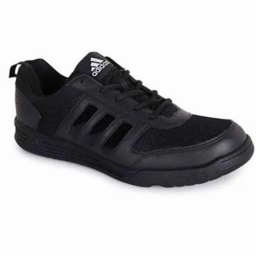 Adidas Black Lace Up Boys School Shoes