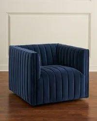 Urban Furniture Mild Steel Fabric Sofa, Hall, Size: 725mm X 750mm X 850mm (wxdxh)
