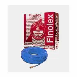 4 Sq Mm Finolex Flame Retardant PVC Insulated Blue Cable