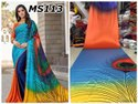 Designer Satin Ladies Indian Wear Saree