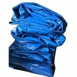 Blue PVC Coated Tarpaulin Fabric
