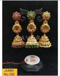 250 Gold Plated Fashion Jhumki