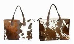 Rexx Printed Ladies Casual Leather Handbag