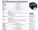 TSC TTP244 Pro Barcode Printer