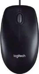Logitech M90 Wired Optical Mouse  (USB, Black)