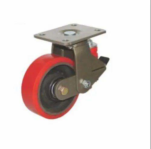 141 Mm Swivel SPC/FAB Series Castor Wheel