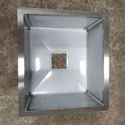 Single Wall Mounted Stainless Steel Kitchen Sink