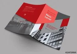 Laminated Paper Brochure or booklet, Size: A5 To A3
