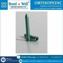 5.0 mm Orthopedic Implants Locking Head Screw