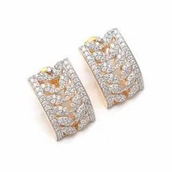 1.65 ctw. Moissanite Diamond Marquise Shape Stud Earrings