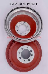 Brake Drum For Bajaj Re / Compact
