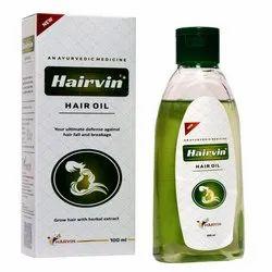 Harvin Hair In Herbal Hair Oil, Packaging Type: Plastic Bottle, Packaging Size: 100 Ml