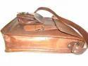 Vintage Leather Curve Portrait  Bag