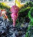 Coral Christmas Ball