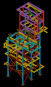 Steel structure detailing
