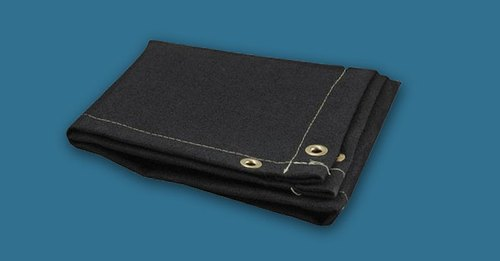 Graphite Coated Fire Blanket